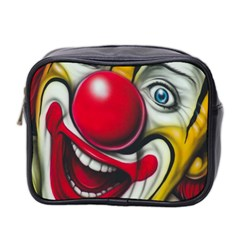 Clown Mini Toiletries Bag 2 Side by Valentinaart