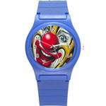 Clown Round Plastic Sport Watch (S) Front