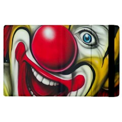 Clown Apple Ipad 2 Flip Case by Valentinaart