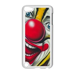 Clown Apple Ipod Touch 5 Case (white) by Valentinaart