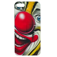 Clown Apple Iphone 5 Hardshell Case With Stand by Valentinaart