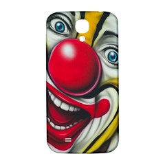 Clown Samsung Galaxy S4 I9500/i9505  Hardshell Back Case by Valentinaart