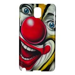 Clown Samsung Galaxy Note 3 N9005 Hardshell Case by Valentinaart