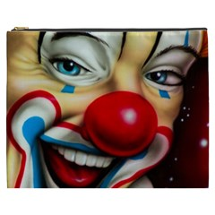 Clown Cosmetic Bag (xxxl)  by Valentinaart