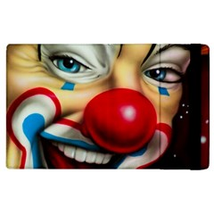 Clown Apple Ipad 3/4 Flip Case by Valentinaart