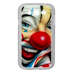 Clown Samsung Galaxy Grand Duos I9082 Case (white) by Valentinaart