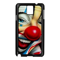 Clown Samsung Galaxy Note 3 N9005 Case (black) by Valentinaart