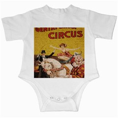 Vintage Circus  Infant Creepers by Valentinaart