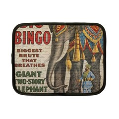 Vintage Circus  Netbook Case (small)  by Valentinaart
