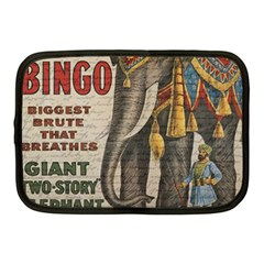 Vintage Circus  Netbook Case (medium)  by Valentinaart