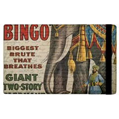 Vintage Circus  Apple Ipad 3/4 Flip Case by Valentinaart