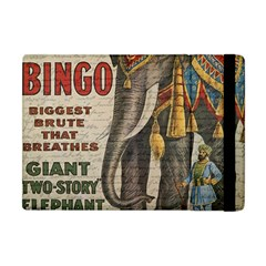 Vintage Circus  Apple Ipad Mini Flip Case by Valentinaart