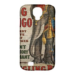 Vintage Circus  Samsung Galaxy S4 Classic Hardshell Case (pc+silicone) by Valentinaart