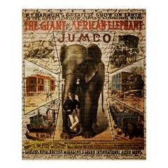 Vintage Circus  Shower Curtain 60  X 72  (medium)  by Valentinaart