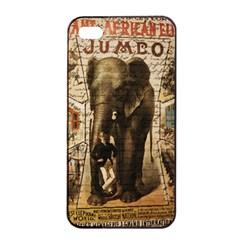 Vintage Circus  Apple Iphone 4/4s Seamless Case (black) by Valentinaart