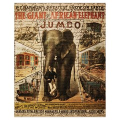 Vintage Circus  Drawstring Bag (small) by Valentinaart