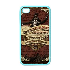 Vintage Circus  Apple Iphone 4 Case (color) by Valentinaart