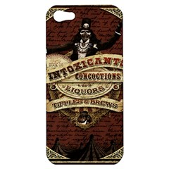 Vintage Circus  Apple Iphone 5 Hardshell Case by Valentinaart