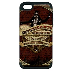 Vintage Circus  Apple Iphone 5 Hardshell Case (pc+silicone) by Valentinaart