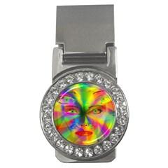 Rainbow Girl Money Clips (cz)  by Valentinaart