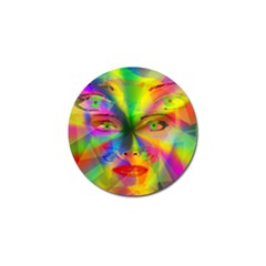 Rainbow Girl Golf Ball Marker (4 Pack) by Valentinaart