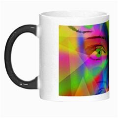 Rainbow Girl Morph Mugs by Valentinaart