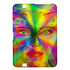 Rainbow Girl Kindle Fire Hd 8 9  by Valentinaart