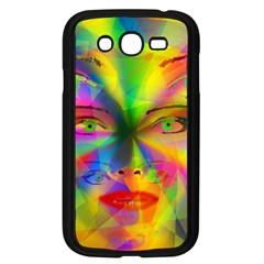 Rainbow Girl Samsung Galaxy Grand Duos I9082 Case (black) by Valentinaart