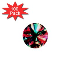 Abstract Girl 1  Mini Buttons (100 Pack)  by Valentinaart