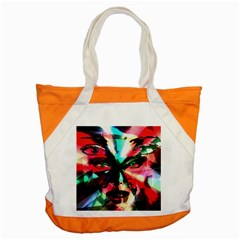 Abstract Girl Accent Tote Bag by Valentinaart