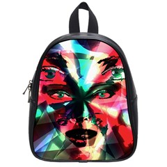 Abstract Girl School Bags (small)  by Valentinaart