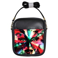 Abstract Girl Girls Sling Bags by Valentinaart