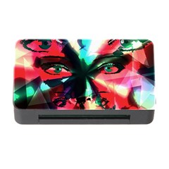Abstract Girl Memory Card Reader With Cf by Valentinaart
