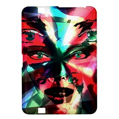 Abstract Girl Kindle Fire Hd 8 9  by Valentinaart