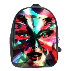 Abstract Girl School Bags (xl)  by Valentinaart