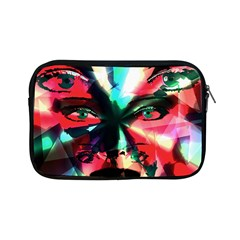 Abstract Girl Apple Ipad Mini Zipper Cases by Valentinaart