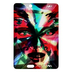Abstract Girl Amazon Kindle Fire Hd (2013) Hardshell Case by Valentinaart