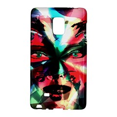 Abstract Girl Galaxy Note Edge by Valentinaart