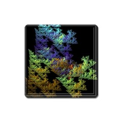 Fractal Forest Square Magnet by Simbadda