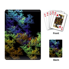 Fractal Forest Playing Card by Simbadda