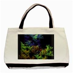 Fractal Forest Basic Tote Bag by Simbadda