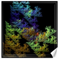 Fractal Forest Canvas 16  X 16   by Simbadda