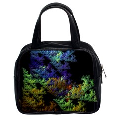 Fractal Forest Classic Handbags (2 Sides) by Simbadda