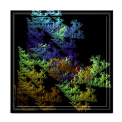 Fractal Forest Face Towel by Simbadda
