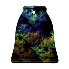 Fractal Forest Bell Ornament (two Sides) by Simbadda