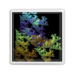 Fractal Forest Memory Card Reader (square)  by Simbadda