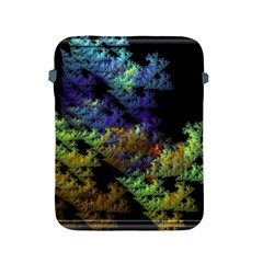 Fractal Forest Apple Ipad 2/3/4 Protective Soft Cases by Simbadda