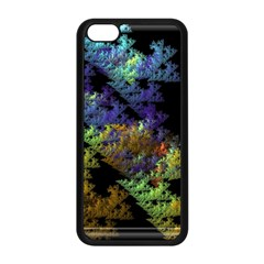 Fractal Forest Apple Iphone 5c Seamless Case (black) by Simbadda