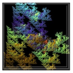 Fractal Forest Large Satin Scarf (square) by Simbadda
