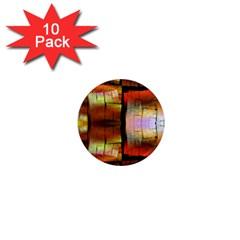 Fractal Tiles 1  Mini Magnet (10 Pack)  by Simbadda